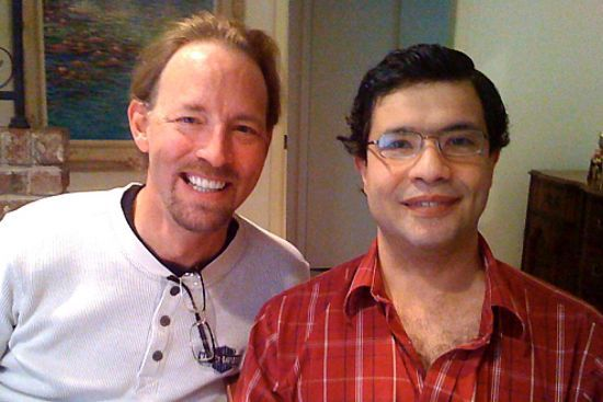 James Denton and José Feghali